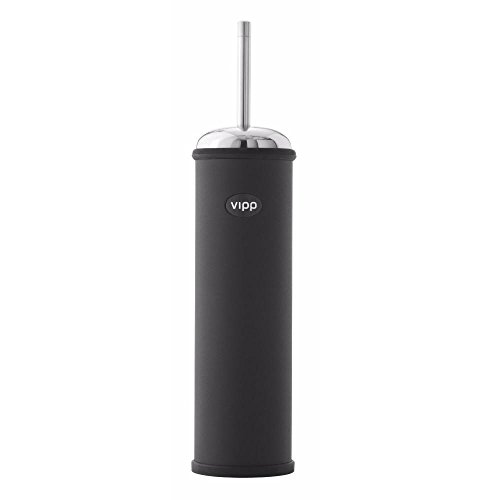 Vipp 11 wc-borstel wand - zwart