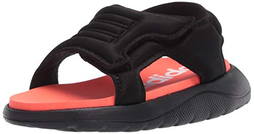 adidas Boys' Comfort Sandal I Slide, Black, 3K M US Infant