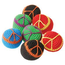 - 1 Dozen (12) Fun Peace Sign Hippie Kickball- Comes in assorted colors- Great for Summer Camps, Party Favors, Prizes, Classrooms, Playgrounds and more!