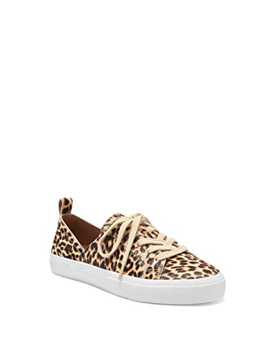 Lucky Brand womens DANSBEY2 Casual Sneaker, NATURAL LEOPARD, 12 M US