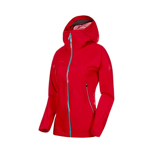 Mammut Masao Light HS Hooded Jacket Women - Ruby/Waters