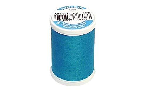 Coats: Thread & Zippers S910-5130 Dual Duty XP General Purpose Thread, 250-Yard, Hummingbird Blue
