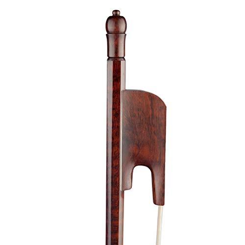 Musladyチェロバイオリンの弓4/4フルサイズバランスのとれたバロック様式スネークウッドカエル