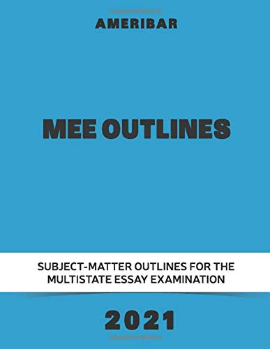 MEE Outlines