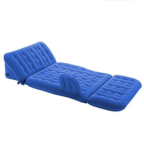 dyn Colchonetas para Dormir De Camping, Sofás Reclinables Inflables, Colchones De Aire Flocados para Una Sola Persona para Colchones Inflables De Interior Y Exterior
