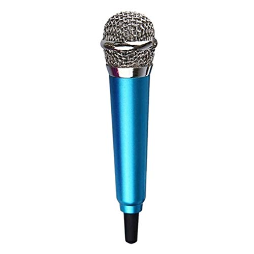 NAYUKY 3,5 mm Stereo-Studio-bewegliche Mini Speech Audio Mikrofon 3.5mm Mic Audio Mikrofon intelligentes Telefon Laptop PC Desktop-Zubehör