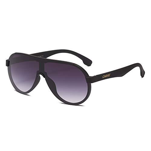 ghn Moda Gafas de sol de la Moda Gafas de Sol de los Hombres 2020 de Lujo de Una Lente de Gafas de Conductor de Pesca Gradiente Gafas UV400 32065 Gafas Simple Para la Pesca de Montañismo