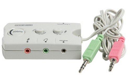 Konig CMP-SWITCH17 - Haut-parleur 2 x 3.5mm Male - 3 x 3.5mm Femelle