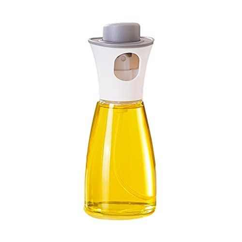 Botella de pulverización de aceite para la cocción de las parrillas, dispensador de pulverizador de aceite de oliva de 180 ml, apta para la barbacoa, ensalada y freír