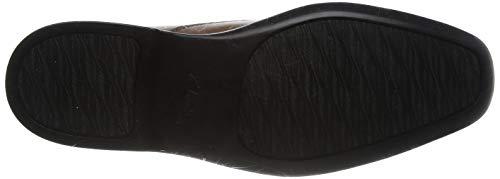 [クラークス]ビジネスシューズ革靴スリッポンベンスリーステップメンズダークタンレザー26.5cm