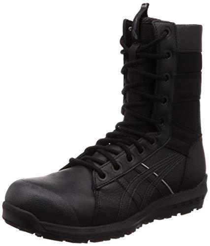 [アシックス] ワーキング 安全靴/作業靴 ウィンジョブ CP402 JSAA A種先芯 耐滑ソール fuzeGEL搭載 メンズ ブラック/ブラック 26.5 cm