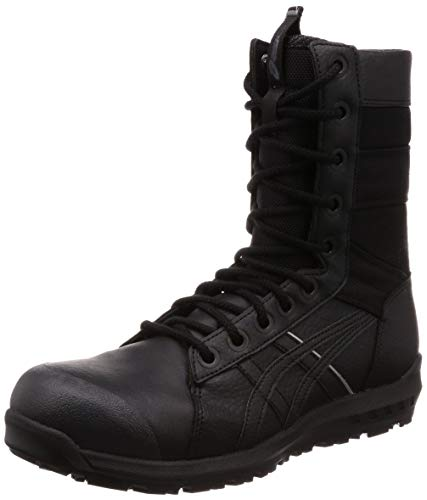 [アシックス] ワーキング 安全靴/作業靴 ウィンジョブ CP402 JSAA A種先芯 耐滑ソール fuzeGEL搭載 メンズ ブラック/ブラック 27.0