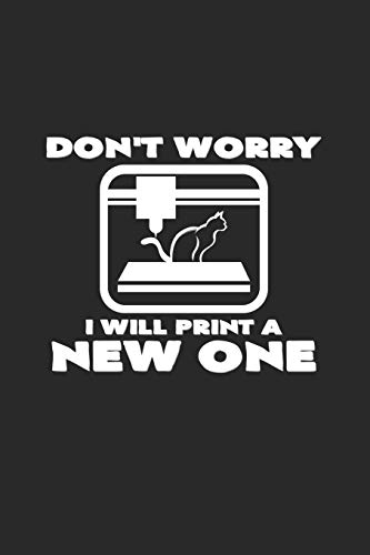 Don't worry I will print a new one: 6x9 3D Printing | lined | ruled paper | notebook | notes