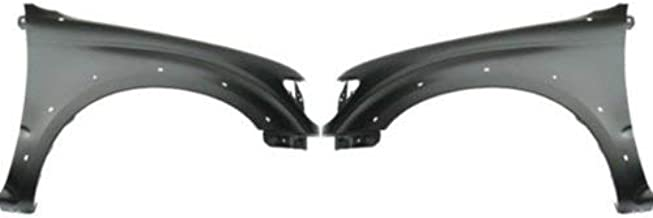 Front Fender Compatible with 2001-2004 Toyota Tacoma Driver and Passenger Side