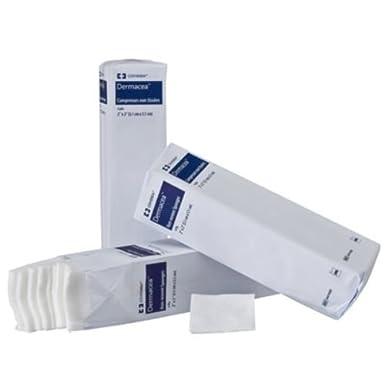 Covidien 441400dermacea non-woven esponjas, no estéril, 4capas, 2