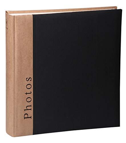Chapter Fotoalbum in 30x30 cm 100 Seiten Foto Album Buchalbum Jumbo: Farbe: Schwarz