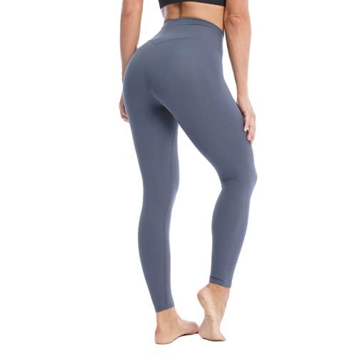 QTJY Pantalones de yoga de cintura alta para mujer de levantamiento de caderas, polainas al aire libre, biblioteca de deportes, estiramiento de secado rápido, pantalones de yoga
