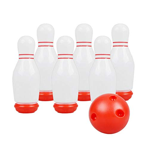Great Deal! Cacat Indoor Game Bowling Toys Set Sport Ball Toys Gift for Kids Flash BowlingElectric S...