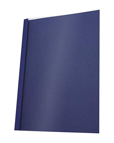 Pavo Thermo-bindemappen A4, Rückenbreite 4 mm, 25-er Pack, 31-40 Blatt, blau