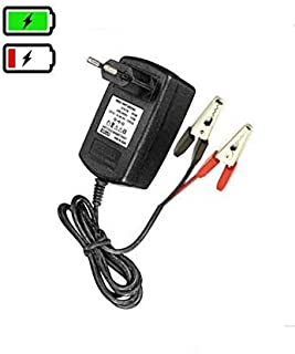 Ankirun™ 12V Lead Acid VRLA SMF Suitable to Charge Batteries from 7 to 14AH Battery Charger (12V 2Amp)