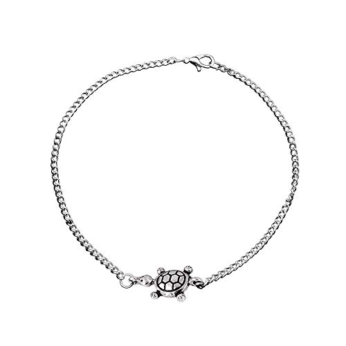 Anklet Women's Retro Sea Turtle Anklet Simple Style Perfect Accessory for Beach
