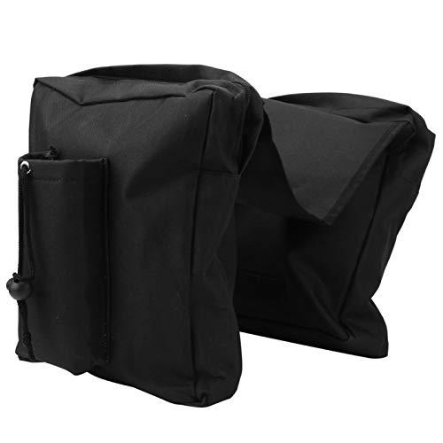 Qqmora Bolsa de Almacenamiento para sillín de ATV con Hebilla de cinturón, para Motocicleta, para ATV