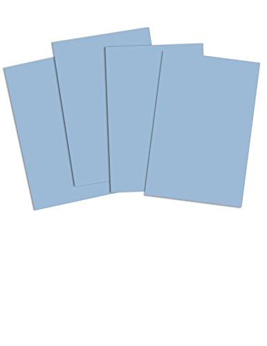 La Maison de la carte et papiers dhkp059 A3 Carte Bonne Qualité, convenant pour les Écoles Et Les Enfant Jardin, bleu clair