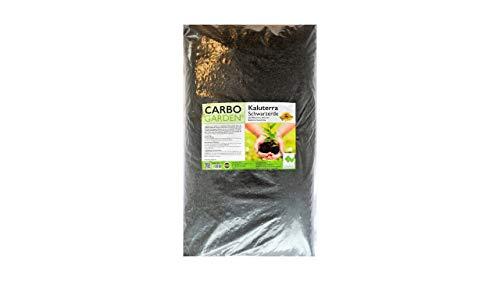 CARBOGARDEN Kaluterra Schwarzerde: Terra Preta, 20 Liter, mit Premium Pflanzenkohle (gemäß Betriebsmittelliste für den ökologischen Landbau zugelassen), nachhaltig in Deutschland hergestellt