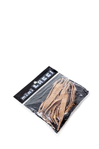 miniLACCI elastische Schnürsenkel Farbe Bronze Glitter