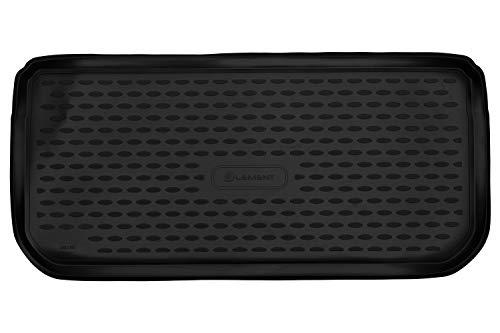 Vasca Baule Tronco Bagagliaio antiscivolo premium su misura per MINI Cooper One (F56) 2014->, hb. (2 volumi), 3 porte, 1 pez.