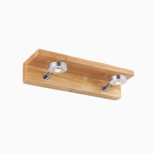 Nologo WHNHM Leuchte Vanity Badezimmer Wandleuchten mit , Home Innenleuchte für Frisierkommode Spiegelschrank Waschtisch (Size : 37cm)