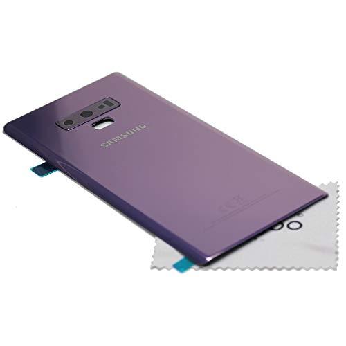 Tapa de batería para Samsung Original para Samsung Galaxy Note 9 (N960F) Morado con mungoo Pantalla paño de Limpieza