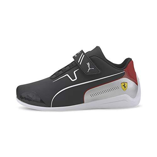 PUMA Ferrari Drift Cat Kids Sneaker Puma Black-Puma White UK 13_Youth_FR 32