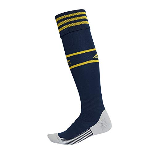 adidas Calcetines unisex Performance Arsenal, Unisex, Calcetines, EH5687, Azul marino/amarillo, Size 37 - 39