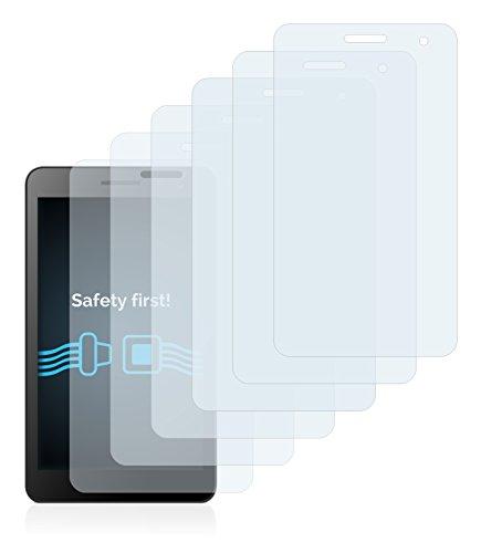 Savvies 6X Schutzfolie kompatibel mit Huawei MediaPad T1 7.0 Displayschutz-Folie Ultra-transparent - 2