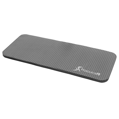 ProsourceFit Yoga Knee Pad Cushion  Grey