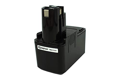 PowerSmart® 2000mAh 9,60V accu voor Bosch GSR 9.6 (oude versie), GSR 9.6 VE-2, GSR 9.6 VES-1, GSR 9.6 VES-2, 2 607 335 035, 2607335035, 2 607 335 037, 2607335037, 2 607 335 072, 2607335072