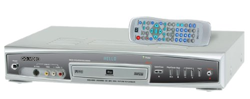 Affordable GoVideo R6530 Progressive-Scan DVD Player/Recorder