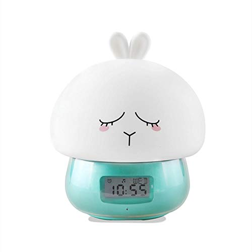 LED-wekker licht waterkraan afstandsbediening wekker bedlampje cadeau-idee tieners meisje
