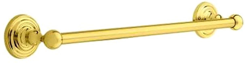 ドラフト噴火番号Taymor 04-pb8218?Classique Concealedシリーズ18インチx 5?/ 8インチタオルバー、光沢真鍮