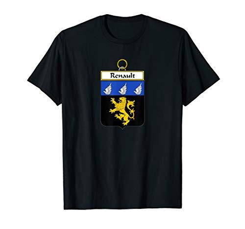 Renault Coat of Arms - Camiseta con escudo de familia
