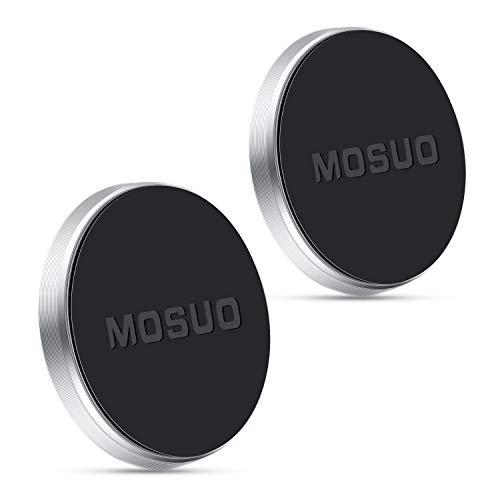 MOSUO 2 Pack Soporte Movil Coche Magnético, Universal Iman para movil Coche...
