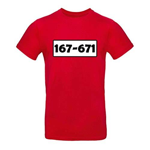 T-Shirt Panzerknacker Kostüm-Set Deluxe+ Cap Maske Karneval Herren XS - 5XL Fasching JGA Sitzung Weiberfastnacht, Größe:2XL, Logo & Set:Standard-Nr./Shirt only (167-761/Shirt ohne Zubehör)