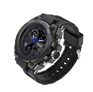 Bysion Smart sports watch, outdoor luminous waterproof digital military watch, multi-function mens special forces sports electronic watch