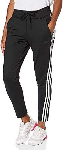 adidas Damen Trainingshose Design 2 Move 3-Streifen, Black, M