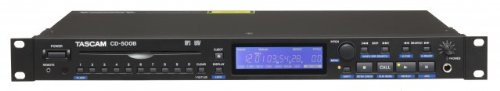 Tascam cd-500b – CD Player (MP3, WAV, schwarz)