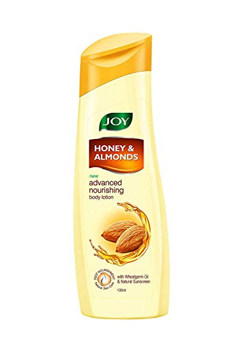 JOY Honey & Almonds Advance Nourishing Body Lotion, 100 ml