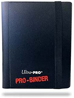 Ultra Pro PRO-Binder, 2-Pocket, Black