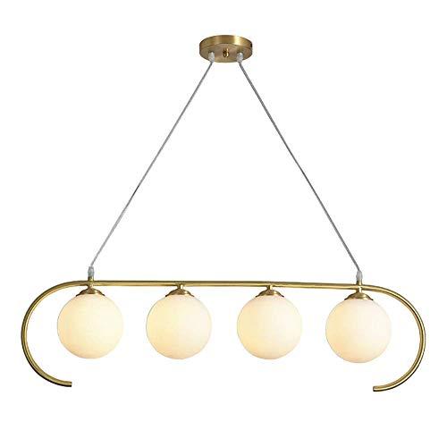 Moderna lámpara de araña de cristal transparente con 3 luces E27 colgante de isla, lámparas de cocina, comedor empotrables para colgar en el techo clásico