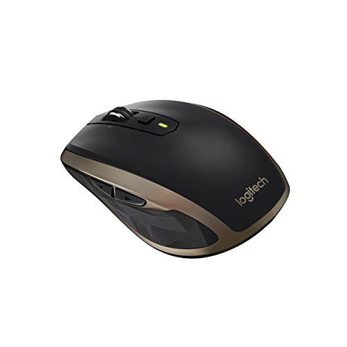 Logitech MX Anywhere 2 Wireless Maus für Windows/Mac (Bluetooth, Unifying) schwarz
